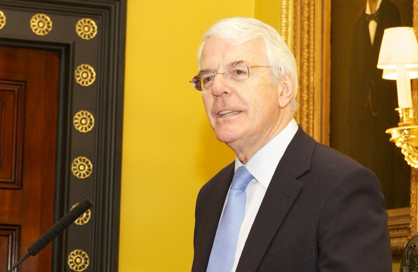 John Major, Foundation Reception, Oct 2014