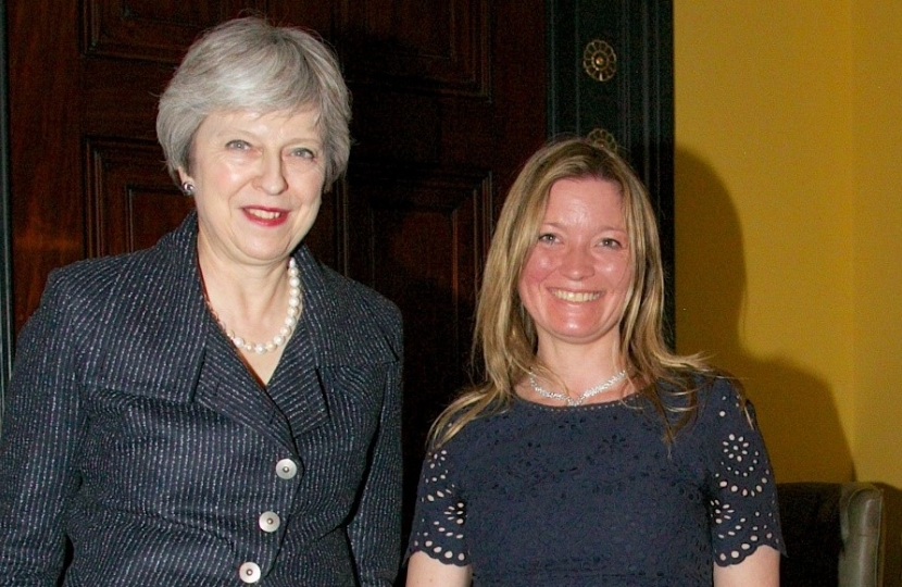 Prime Minister & Lana Hempsall, our first Bursary Candidate 2018
